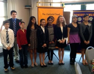Del Mar Solana Beach Optimist Club Speech Contest