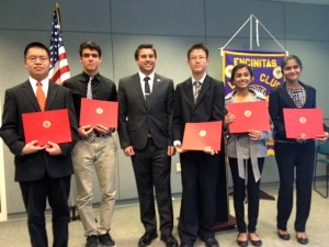 Encinitas Lions Club Speech Contest 2013
