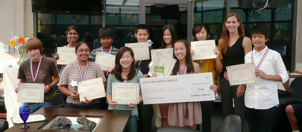 Teen Speaking Skills Graduates San Diego